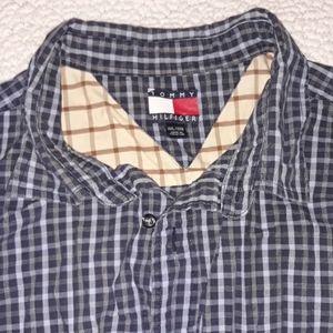 Tommy Hilfiger checkered shirt